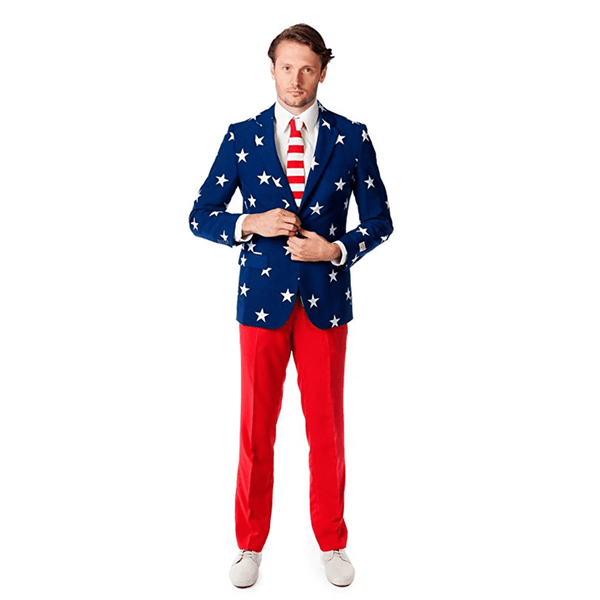 American AF Stars and Stripes Suit