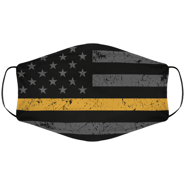 Goldline Flag Face Cover
