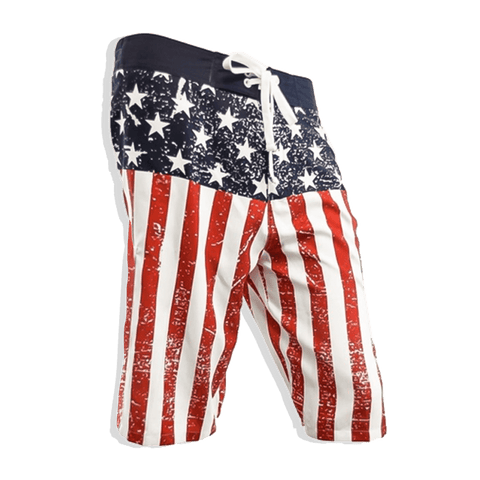 AK: USA Flag Board Shorts - 4oj