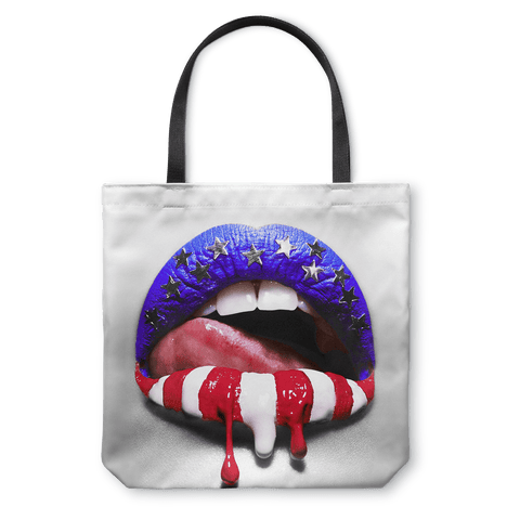 Liberty Lips Tote Bag