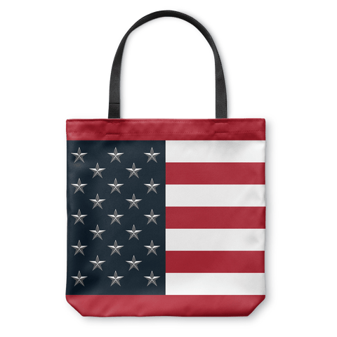 USA Flag v2 - Tote Bag