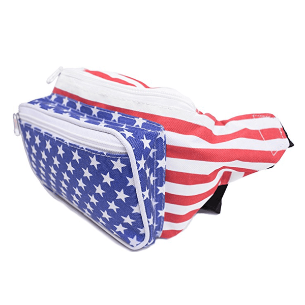 Stars and Stripes Fanny Pack