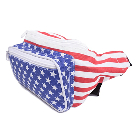 Stars and Stripes Fanny Pack - 4oj