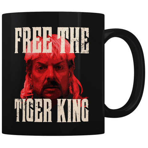 Free the Tiger King - Coffee Mug