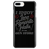 Long Romantic Walks to the Gun Store - Phone Case