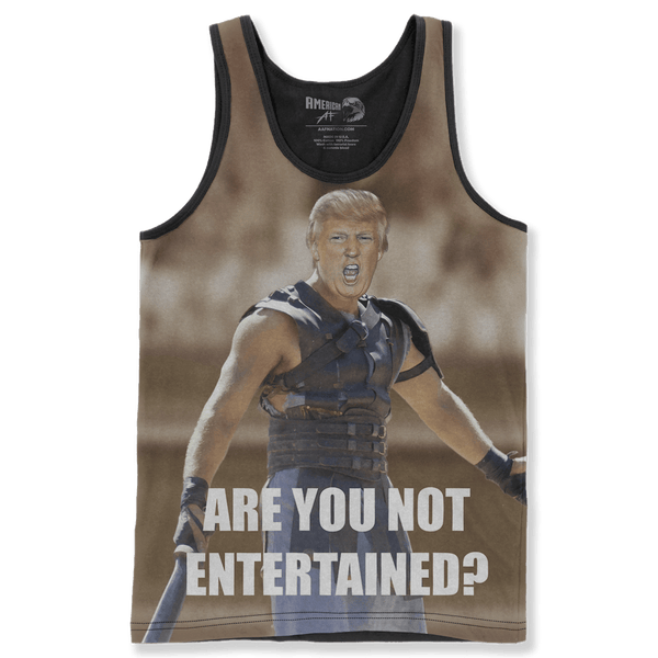 Gladiator Trump - Are You Not Entertained?