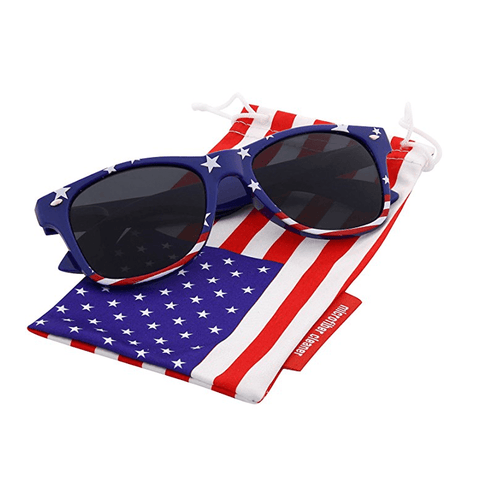 AK: Patriotic Flag Sunglasses - 4oj