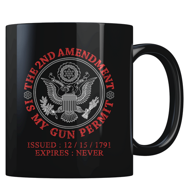 The 2nd Amendment - Gun Permit - Coffee Mug