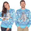 3D Shark Ugly Christmas Sweater