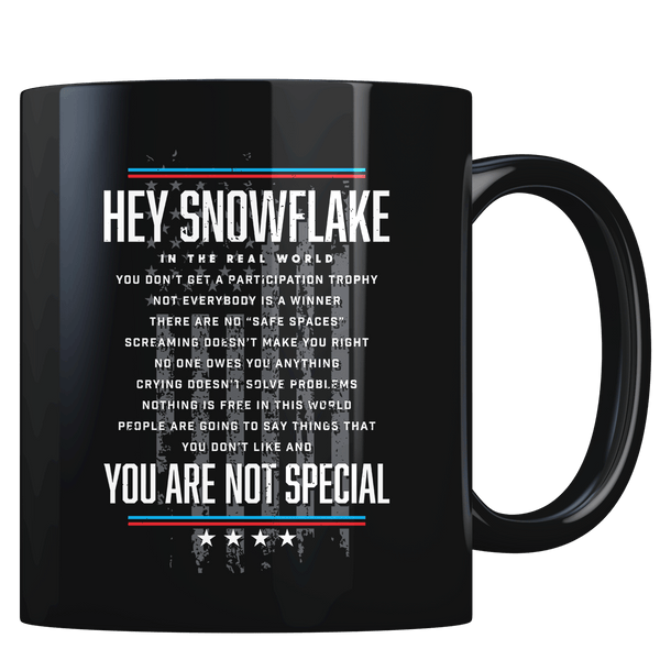 Hey Snowflake - Coffee Mug