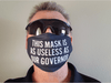 Face Cover Premium Face Cover / One Size Useless as Our Governor Face Cover