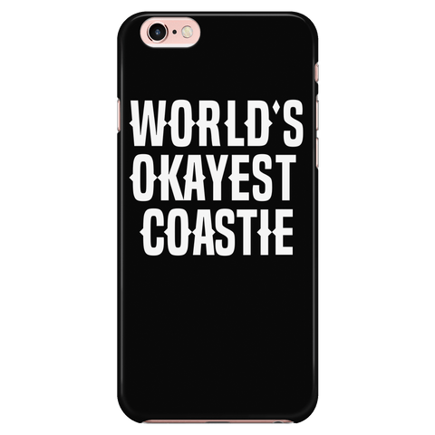 World's Okayest Coastie - Phone Case