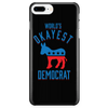 World's Okayest Democrat - Phone Case