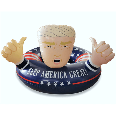 Keep America Great Trump Pool Float
