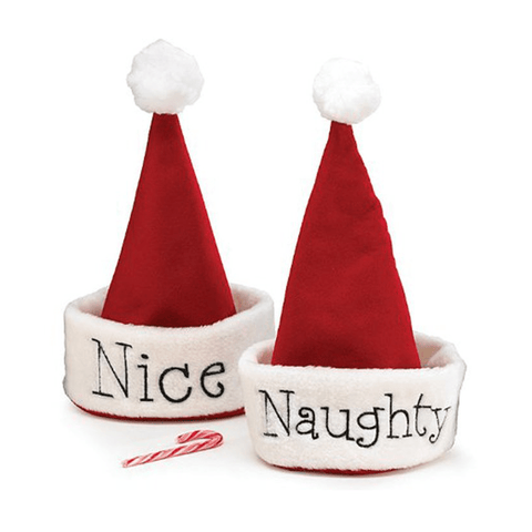 Naughty or Nice Holiday Hat