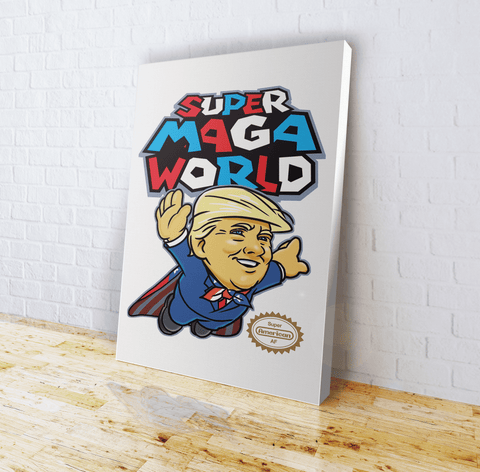 Super MAGA World (parody) - Canvas