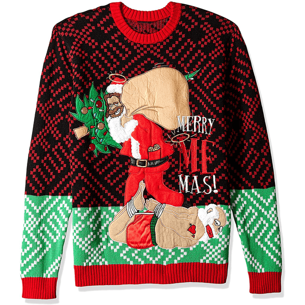 Merry Me Mas Ugly Christmas Sweater