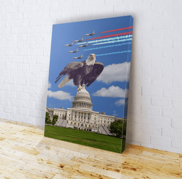Capital Eagle Canvas