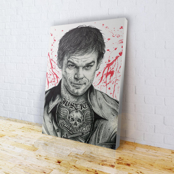 INKED - Dexter Canvas