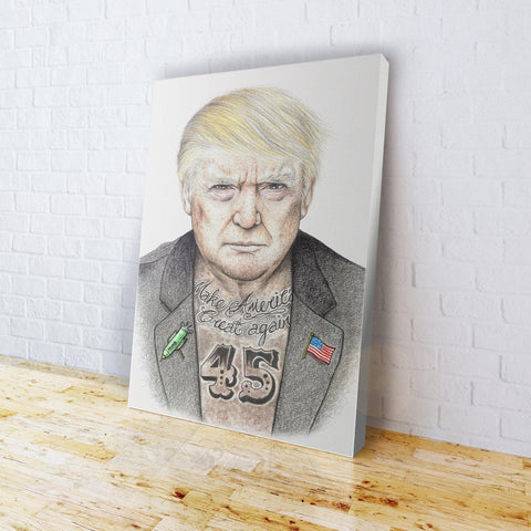 INKED - Trump 45 Canvas