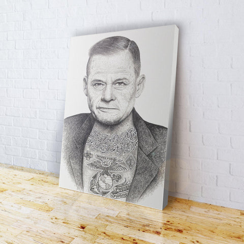 INKED - Chesty Canvas