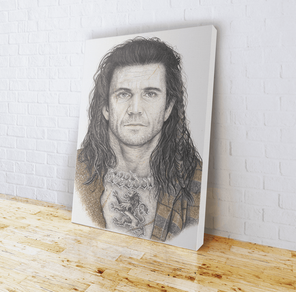 INKED - Braveheart Canvas