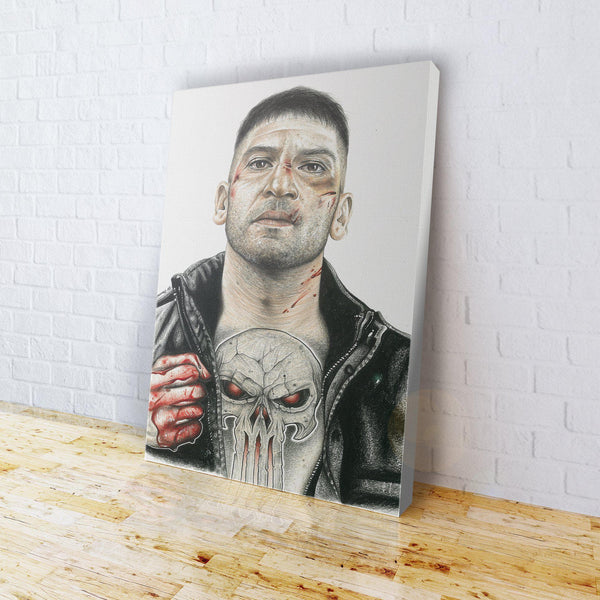 INKED - Punisher Canvas