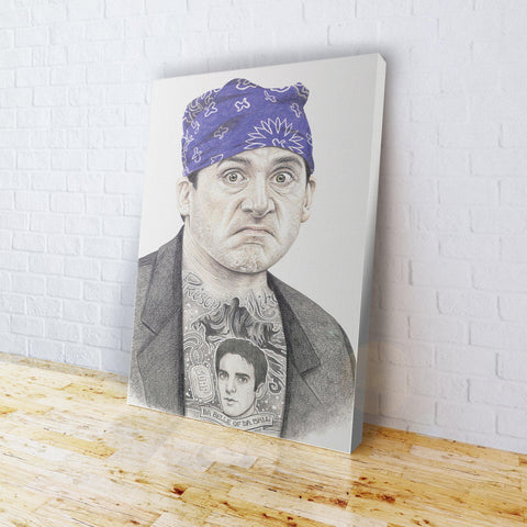 INKED - Prison Mike Canvas