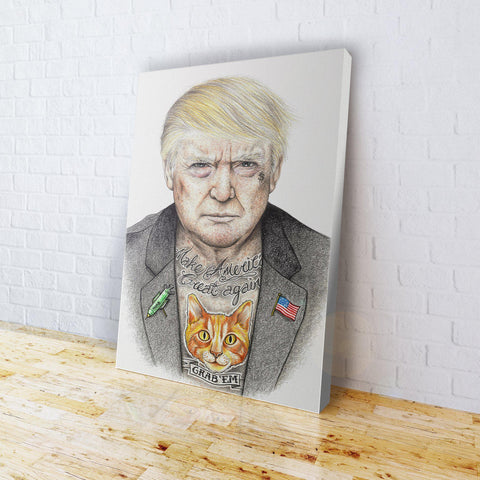 INKED - Trump Canvas