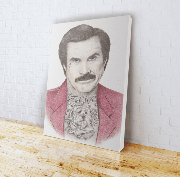 INKED - Anchorman Canvas