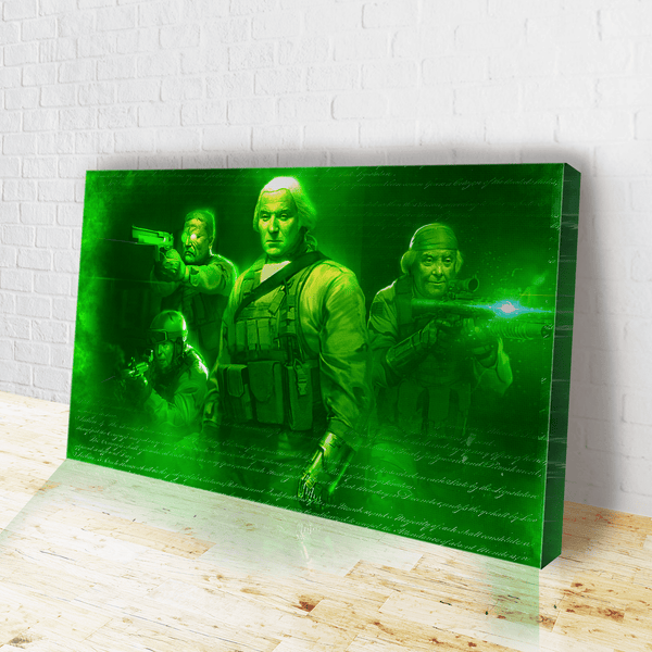 Seal Team 1776 (Night Vision) Canvas