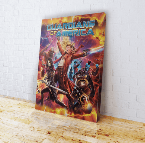 Guardians of America Canvas