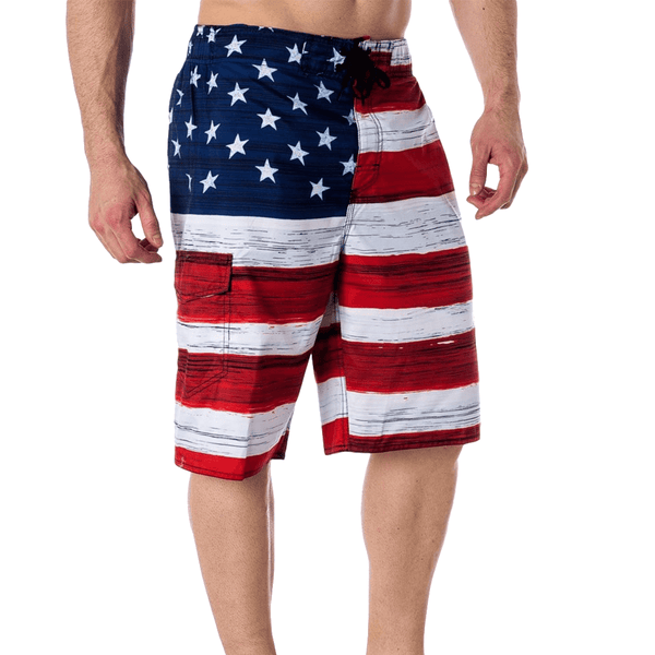 Patriotic Flag Shorts