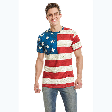 USA Flag Vintage Shirt