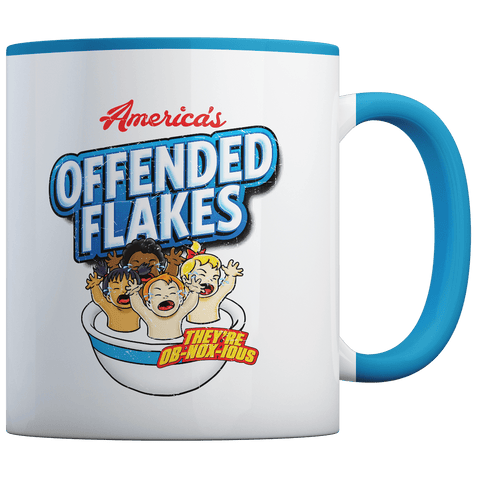 Offended Flakes - Coffee Mug
