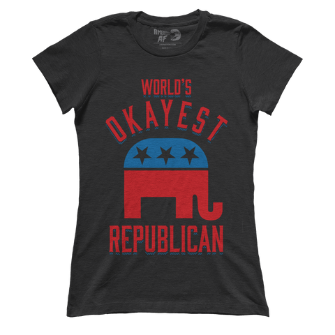 World's Okayest Republican (Ladies) - ct2