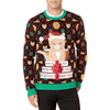 Christmas Pizza Cat Ugly Christmas Sweater