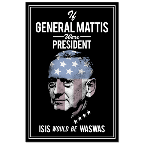 Poster - General Mattis IS*S Hunter