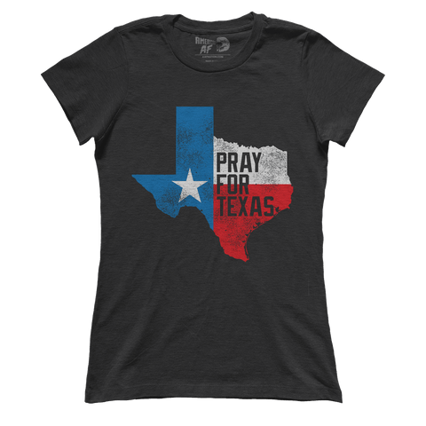 AK: Pray for Texas - Fundraiser Shirt (Ladies)