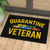 Quarantine Veteran Door Mat