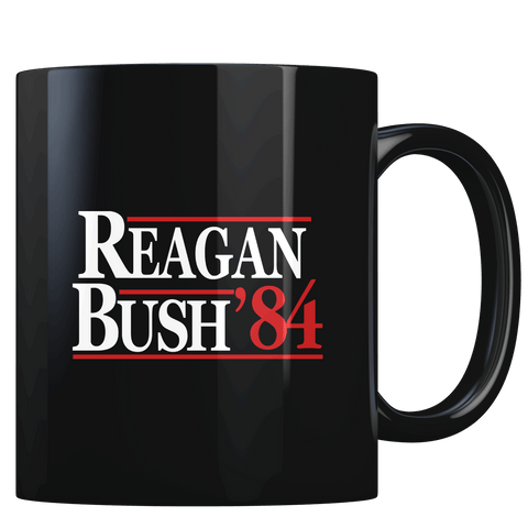 Reagan Bush 1984 V2 - Coffee Mug