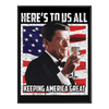 Reagan Keep America Great - Poster