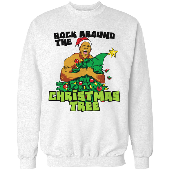 Rock Around the Christmas Tree Unisex Sweatshirt