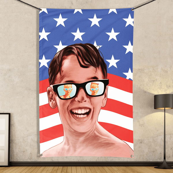 Sandlot Patriot - Flag