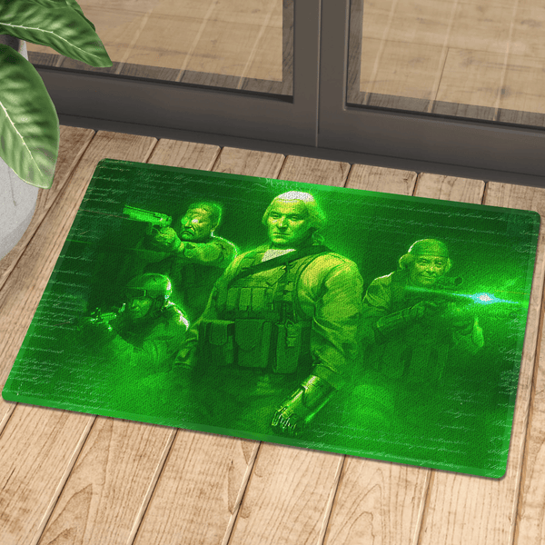 Seal Team 1776 (Night Vision) Door Mat