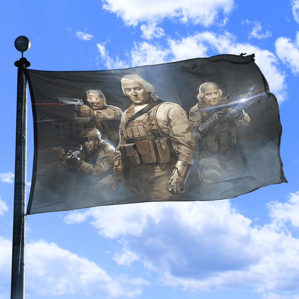 Seal Team 1776 - Flag