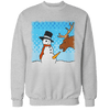 Snowman Treat Unisex Sweatshirt