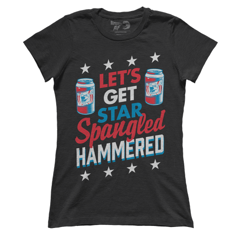 AK: Let's Get Star Spangled Hammered (Ladies) - 4oj