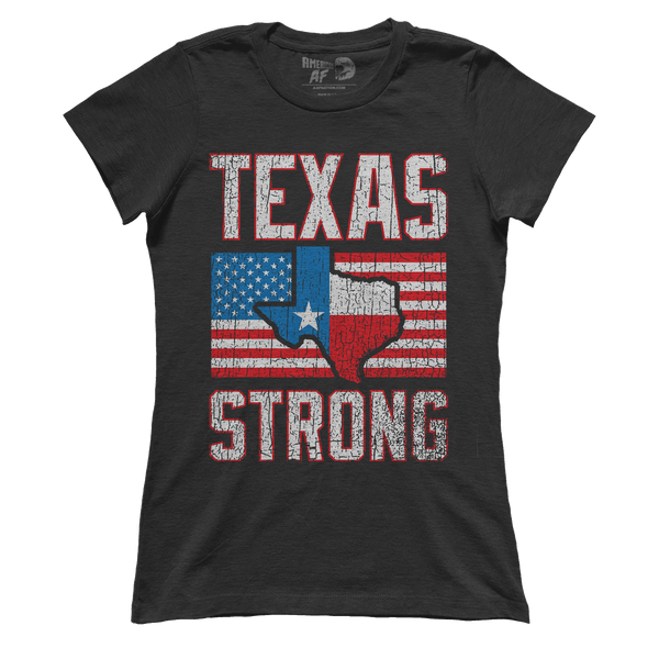 AK: Texas Strong - Fundraiser Shirt (Ladies)