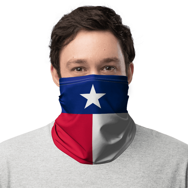 Texas Flag Face Gaiter